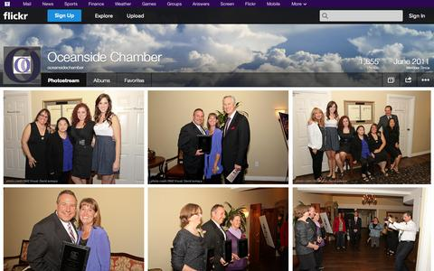 Screenshot of Flickr Page flickr.com - Flickr: oceansidechamber's Photostream - captured Oct. 24, 2014