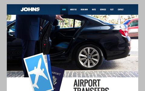Screenshot of Home Page Privacy Page johnsgroup.eu - John's Group Malta | Cab, Taxi, Limousine & Automotive Services in Malta - captured Sept. 30, 2014