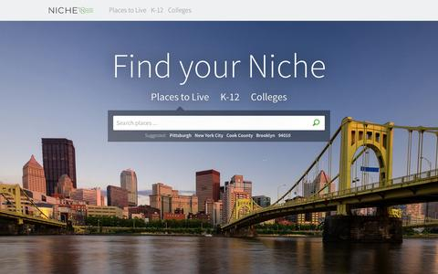 Niche: Reviews of K-12 Schools, Colleges, and Neighborhoods