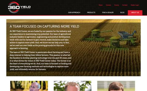 Screenshot of About Page 360yieldcenter.com - About Us  |  360 Yield Center - captured March 4, 2016