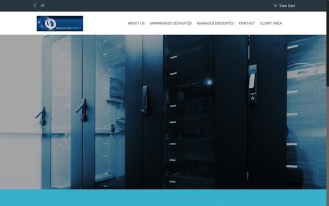 Screenshot of Home Page dedidirect.com - DediDirect – Reliable Hosting with Personal Touch - captured Aug. 6, 2018