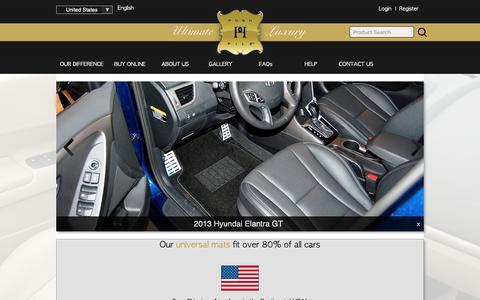 Screenshot of Login Page poshpile.com - Posh Pile Ultimate Luxury Car Mats - captured Dec. 15, 2018