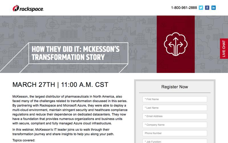 Crossing the IT Transformation Chasm – McKesson's Transformation Story
