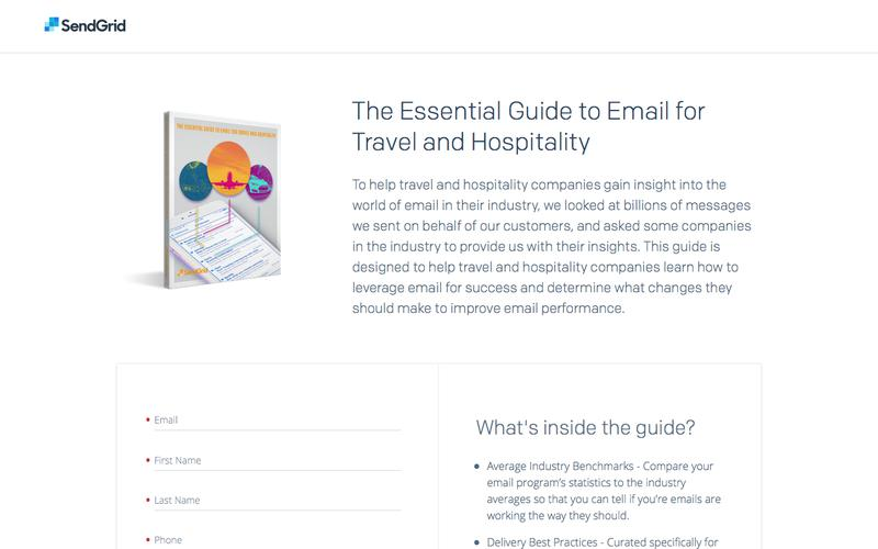 The Essential Guide to Email for Travel and Hospitality