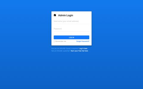 Screenshot of Login Page ihouseweb.com - Log in to IHOUSEweb - captured Dec. 4, 2018