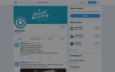 Tweets by Influitive (@influitive) – Twitter