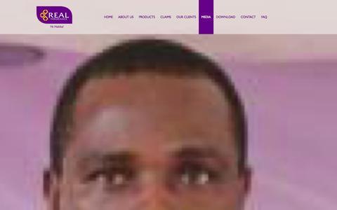 Screenshot of Press Page realinsurance.co.tz - Media |Real Insurance Tanzania : NI Hakika! - captured Oct. 7, 2014