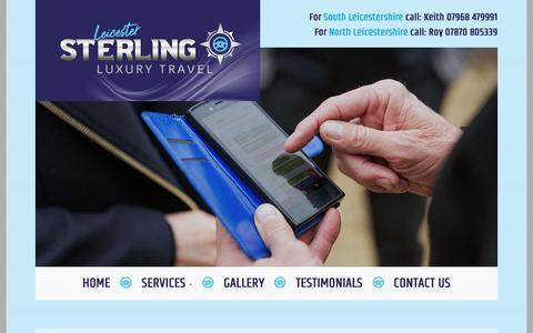 Screenshot of Contact Page sterlingluxurytravel.co.uk - Sterling Luxury Travel - captured June 3, 2018