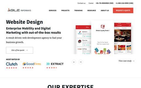 Utmost Mobile, Web Development Services Provider | Agile Infoways