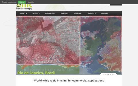 Screenshot of Home Page dmcii.com - DMCii - captured Sept. 30, 2014