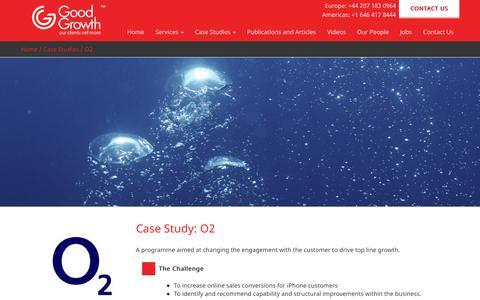 Screenshot of Case Studies Page goodgrowth.co.uk - O2 - Good Growth - captured Sept. 25, 2017