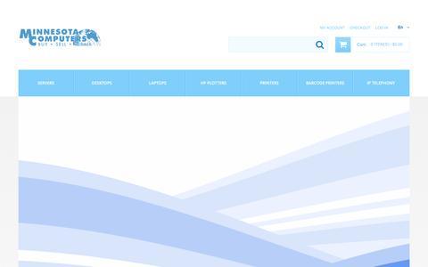 Screenshot of Home Page minnesotacomputers.com - Home page - captured Aug. 15, 2016