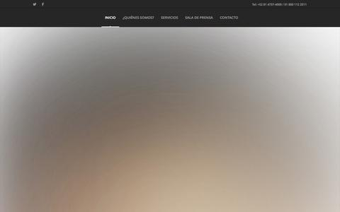 Screenshot of Home Page orwa.com.mx - ORWA | ORWA COMUNICACIONES - captured Oct. 3, 2014