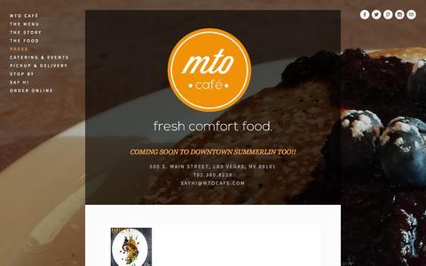 Screenshot of Press Page mtocafe.com - Press — MTO Café - captured Sept. 30, 2014