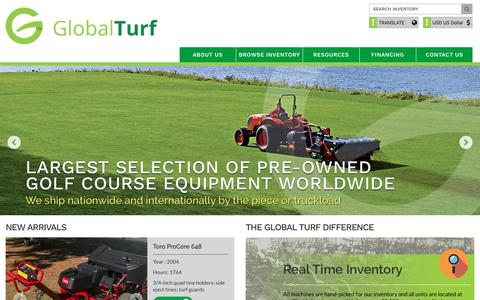 Buy Sell Trade Golf Course | Sports Arena Turf Equipment - Global Turf Equipment