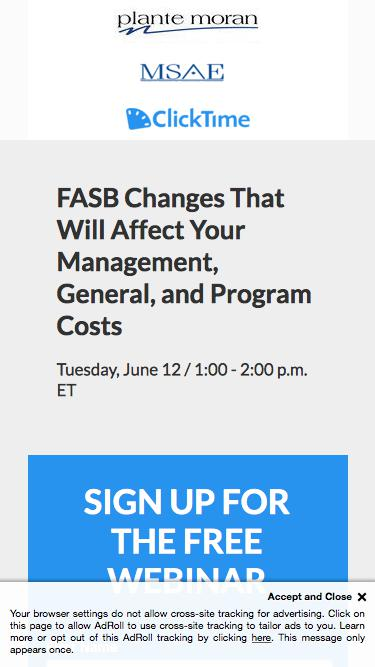FASB Changes That Will Affect Your Management, General, and Program Costs