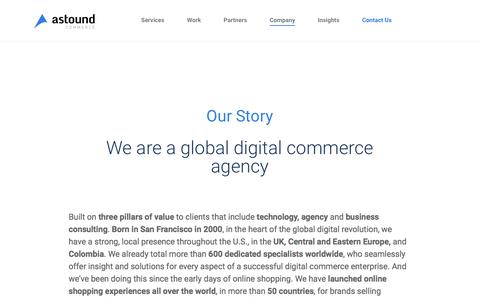 Screenshot of Team Page Locations Page astoundcommerce.com - World's largest private digital commerce agency | Astound Commerce - captured May 31, 2017