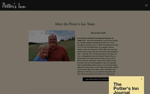 Screenshot of Team Page pottersinn.com - Meet Our Team — Potter's Inn - captured July 20, 2018