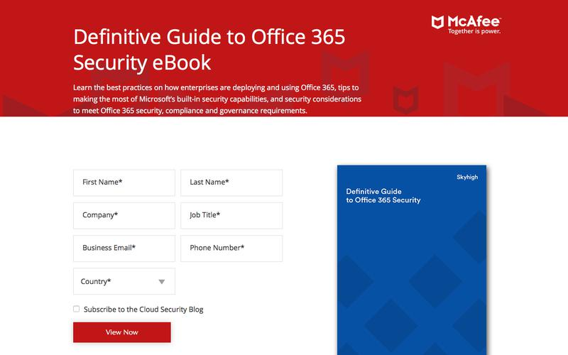Definitive Guide to Office 365 Security eBook