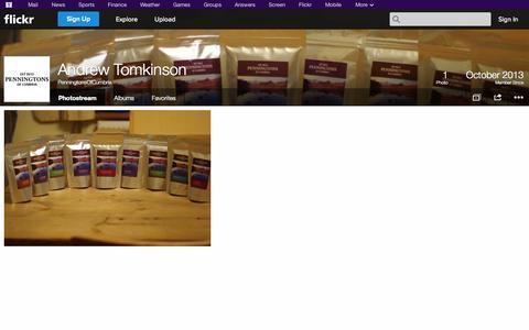 Screenshot of Flickr Page flickr.com - Flickr: PenningtonsOfCumbria's Photostream - captured Oct. 22, 2014