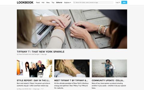 Screenshot of Blog lookbook.nu - BLOG | LOOKBOOK - captured Sept. 18, 2014