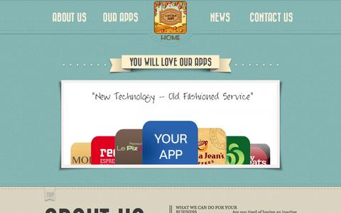Screenshot of Home Page About Page Contact Page Press Page loveourapps.com.au - Love our Apps - captured Sept. 30, 2014