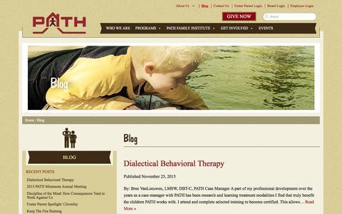 Screenshot of Blog pathinc.org - Blog - PATH, Inc. - captured Dec. 5, 2015