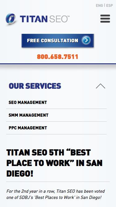 Titan SEO Awarded 5th Best Place to Work in San Diego!
