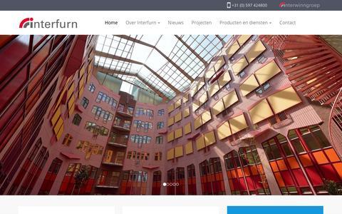 Screenshot of Home Page interfurn.eu - Home - Interfurn B.V. - captured Feb. 2, 2016