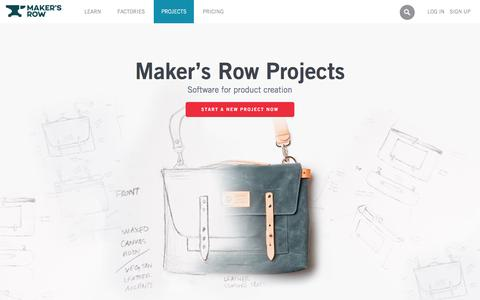 Maker's Row - Factory Sourcing Made Easy