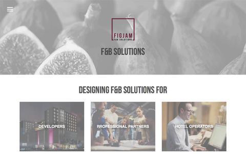 Screenshot of Home Page figjamco.com - Figjam – F&B Soultions - captured Oct. 13, 2017