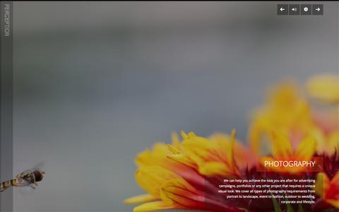 Screenshot of Home Page thisisperception.com - Perception Creative - Home - captured Oct. 2, 2014