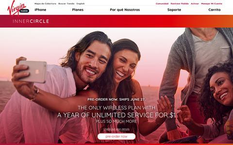 Página de Inicio   Virgin Mobile