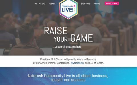 Autotask Community Live | IT Service Channel Event