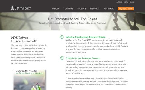 Net Promoter Basics