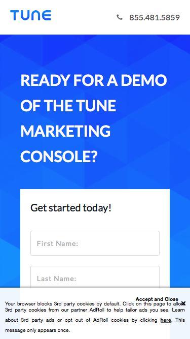 Mobile App Attribution | TUNE
