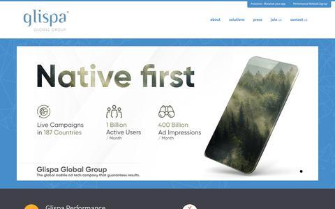 Home - glispa is a global mobile ad tech company that guarantees results glispa is a global mobile ad tech company that guarantees results