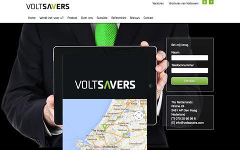 Screenshot of Contact Page voltsavers.com - Contact - Voltsavers -  Voltsavers - captured Nov. 3, 2014