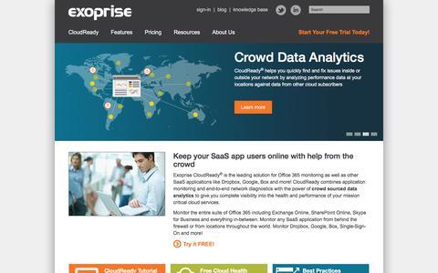 Office 365   SaaS   Cloud   Monitoring   Exoprise