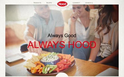 Screenshot of Home Page hood.com - Hood® | Hood Home - captured June 18, 2015