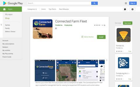 Connected Farm Fleet - Apps on Google Play