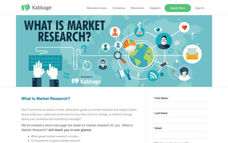 Market Research: Your One-Page Hot Sheet