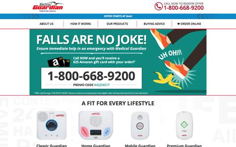 Medical Alert Systems, Devices & Alarms for Seniors in Emergencies | Medical Guardian