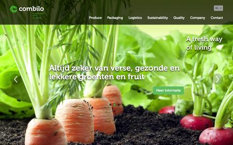 Screenshot of Home Page combilo.nl - Combilo - captured Oct. 2, 2014