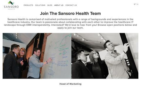 Careers   Sansoro Health — Sansoro Health