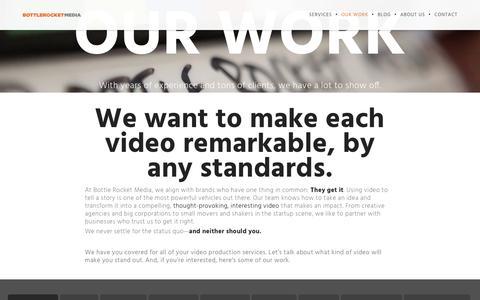 Video Production Services | Bottle Rocket Media | Bottle Rocket Media