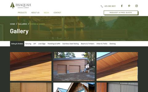 Screenshot of Press Page cedarexperts.com - Issaquah Cedar & Lumber - Siding & Shakes - captured May 5, 2019