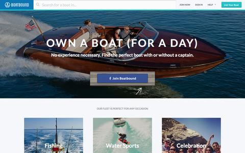 Boat Rentals, Charter Boat Rentals, House Boat Rentals on Boatbound