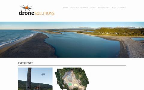 Screenshot of Blog dronesolutions.co.nz - Blog   DroneSolutions - captured Oct. 5, 2014