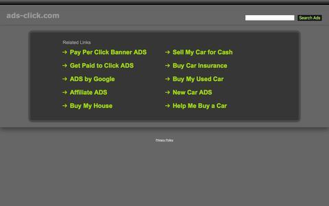 Screenshot of Home Page ads-click.com - Ads-Click.com - captured Feb. 21, 2016